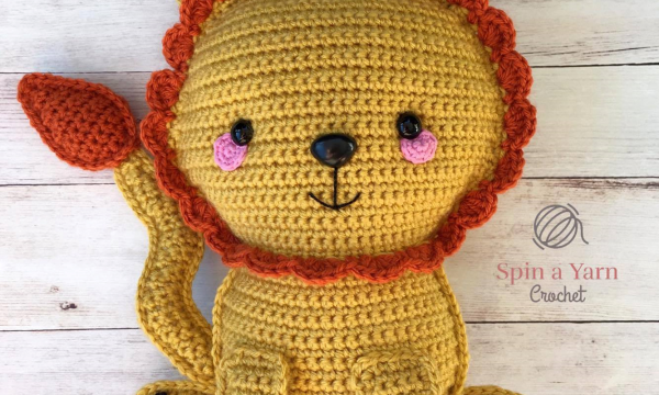 LION FREE CROCHET PATTERN